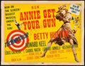 "Movie Posters:Musical, Annie Get Your Gun (MGM, 1950). Title Lobby Card (11"" X 14""). Musical.. ..."