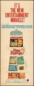 """Movie Posters:Animation, Gay Purr-ee (Warner Brothers, 1962). Insert (14"""" X 36""""). Animation.. ..."""