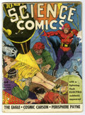Golden Age (1938-1955):Science Fiction, Science Comics #1 (Fox, 1940) Condition: Apparent GD....