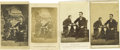 Photography:CDVs, Abraham Lincoln & Son, Thad: Four Cartes de Visite fromthe Same Photographic Image by Gardiner. . --The original p...(Total: 4 )