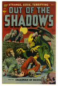 Golden Age (1938-1955):Horror, Out Of The Shadows #6 Mile High pedigree (Standard, 1952)Condition: VF. Alex Toth art. Skull cover. Overstreet 2006 VF 8.0...
