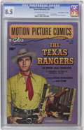 """Golden Age (1938-1955):Western, Motion Picture Comics #106 Davis Crippen (""""D"""" Copy) pedigree (Fawcett, 1951) CGC VF+ 8.5 Off-white to white pages...."""