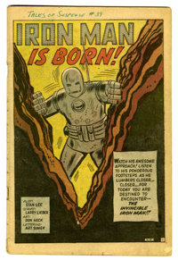 Tales of Suspense #39 (Marvel, 1963) Condition: Coverless