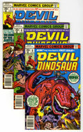 Bronze Age (1970-1979):Miscellaneous, Devil Dinosaur Group (Marvel, 1978) Condition: Average VF+....(Total: 8)