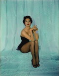 "Movie/TV Memorabilia:Photos, Ava Gardner Hand-Tinted Glamour Shot. A stunning, hand-tinted 8"" x10"" glamour shot of Gardner that has been matted to an ov..."