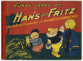Platinum Age (1897-1937):Miscellaneous, Funny Larks of Hans Und Fritz, The 1917 Edition (SaalfieldPublishing Co., 1917) Condition: VG....
