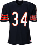 Football Collectibles:Uniforms, 1986 Walter Payton Authentic Model Chicago Bears Jersey. ...