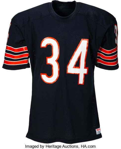 buy online 5798e 65ac0 1986 Walter Payton Authentic Model Chicago Bears Jersey ...