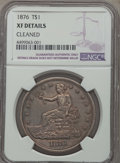 Trade Dollars: , 1876 T$1 -- Cleaned -- NGC Details. XF. NGC Census: (11/423). PCGS Population: (24/582). XF40. Mintage 455,000. ...