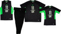 Football Collectibles:Others, 2016 Cardale Jones Signed Combine Workout Outfit with Cleats....