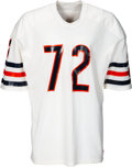 Football Collectibles:Uniforms, 1986 William Perry Game Issued Chicago Bears Jersey....