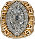 Football Collectibles:Others, 1993 Dallas Cowboys Super Bowl XXVIII Championship Ring....