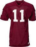 Football Collectibles:Uniforms, 1968 Jim Ninowski Game Worn Washington Redskins Jersey....