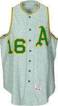 "Baseball Collectibles:Uniforms, 1964 Ed Charles Game Worn Kansas City Athletics ""Green Mist"" Jerseywith Matching Pants...."