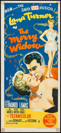 "Movie Posters:Musical, The Merry Widow & Other Lot (MGM, 1952). Australian Daybill (13"" X 30"") & Australian Three Sheet (40"" x 77.75""). Musical.. ... (Total: 2 Items)"