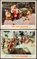 """Movie Posters:Science Fiction, The Time Machine (MGM, 1960). Lobby Cards (2) (11"""" X 14""""). Science Fiction.. ... (Total: 2 Items)"""