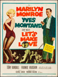 """Movie Posters:Comedy, Let's Make Love (20th Century Fox, 1960). Poster (30"""" X 40"""").Comedy.. ..."""
