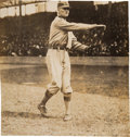 Baseball Collectibles:Photos, 1910's Walter Johnson Original News Photograph, PSA/DNA Type 1....