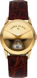 Timepieces:Wristwatch, Elgin Direct Read Lord Elgin. ...