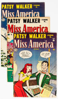 Golden Age (1938-1955):Romance, Miss America Magazine Group of 14 (Atlas, 1952-58) Condition:Average VG/FN.... (Total: 14 Comic Books)
