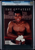 Miscellaneous Collectibles:General, 2016 Muhammad Ali Sports Illustrated Magazine CGC 9.4, Pop One with None Higher....