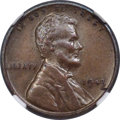 Lincoln Cents, 1943 CENT Struck on a Bronze Planchet AU53 NGC....