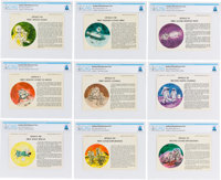 """Apollo: Danbury Mint """"Man in Space Series"""" Permanent Reference Cards, Circa 1969, Directly From The Armstrong..."""