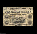 Obsoletes By State:Indiana, Terre Haute, IN- Commercial Bank $2, $5, $10 Aug. 3, 1858 Wolka 797-3, 5, 9 All three of these certificates of deposit carr... (3 notes)