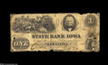 Obsoletes By State:Iowa, Fort Madison, IA- State Bank of Iowa $2 Sep. 1, 1860 G102 Oakes 77-1 This note is listed as SENC in Haxby. In fact, this de...