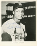 """Autographs:Photos, Curt Flood Signed Photograph. The 8x10"""" photograph that we presenthere has been signed by the man who changed the way that..."""