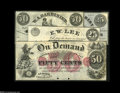 Obsoletes By State:New York, Four New York Small Change Notes. Adams, NY- Smith & Gilbert 25¢ Nov. 1, 1862 Harris 27 CU, PC, once mounted Athens, NY- U... (4 notes)