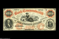 Obsoletes By State:Virginia, Richmond, VA- Bank of the Commonwealth $100 July 1, 1861 G10a Jones BR15-46 A very scarce, high-denomination example which ...