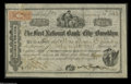 Brooklyn, NY- First National Bank of the City of Brooklyn 48 Shares Stock CertificateThe First received charter number 9...