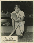 Autographs:Photos, 1964 Ken Boyer Signed Photograph. A five-time Gold Glover at thirdfor his St. Louis Cardinals, Ken Boyer was also a solid ...