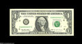 Error Notes:Inverted Reverses, Fr. 1921-H $1 1995 Inverted Reverse Federal Reserve Note ChoiceCrisp Uncirculated. A nice example of this modern invert, wi...
