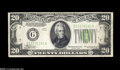 Error Notes:Inverted Reverses, Fr. 2054-G $20 1934 Inverted Reverse Federal Reserve Note.Extremely Fine-About Uncirculated. Inverts are scarce for these ...