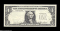 Error Notes:Missing Third Printing, Fr. 1913-? $1 1985 Federal Reserve Note. Choice Crisp Uncirculated. The third printing is missing, but embossing for the dis...