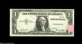 Error Notes:Partial Third Printing, Fr. 1614 $1 1935E Silver Certificate. Choice Crisp Uncirculated. The third printing is lacking all but three digits and a pr...