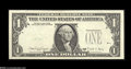 Error Notes:Third Printing on Reverse, Fr. 1915-C $1 1988A Federal Reserve Note. Extremely Fine-About Uncirculated. The third printing is on the back of this Phill...
