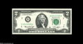 Error Notes:Mismatched Prefix Letters, Fr. 1935-B $2 1976 Federal Reserve Note. Gem Crisp Uncirculated.One of a consecutive pair, each with the well-known H/B mis...