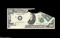 Error Notes:Foldovers, Fr. 2072-J $20 1977 Federal Reserve Note. Gem Crisp Uncirculated.This is a wild error that bears evidence that points to th...