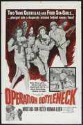 "Movie Posters:War, Operation Bottleneck (United Artists, 1961). One Sheet (27"" X 41"").War...."