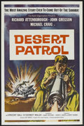 "Movie Posters:War, Desert Patrol (Universal International, 1962). One Sheet (27"" X41""). War...."