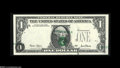 Error Notes:Major Errors, Fr. 1927-I $1 2001 Federal Reserve Note. Gem Crisp Uncirculated.One of the truly most spectacular shift errors we've ever h...