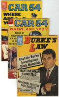 Silver Age (1956-1969):Mystery, Burke's Law and Car 54, Where Are You? Group (Dell, 1962-65)Condition: Average VG-.... (Total: 7 Comic Books)
