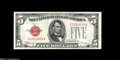 Small Size:Legal Tender Notes, Fr. 1529 $5 1928D Legal Tender Note. Gem Crisp Uncirculated. A fresh and nicely centered example of the key to the $5 Legal...