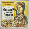 "Movie Posters:Adventure, Goliath and the Dragon (American International, 1960). Six Sheet(81"" X 81""). Adventure...."