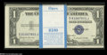 Small Size:Silver Certificates, Fr. 1618 $1 1935H Silver Certificates. Original Pack of 100. Choice-Gem Crisp Uncirculated. An original pack of 100 of thes... (100 notes)