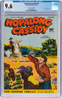 Hopalong Cassidy #26 Mile High Pedigree (Fawcett Publications, 1948) CGC NM+ 9.6 White pages