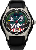 Timepieces:Wristwatch, Corum, Bubble Dive Bomber Shark's Head Automatic, Limited Edition,Ref. 82.180.120, Circa 2004 . ...